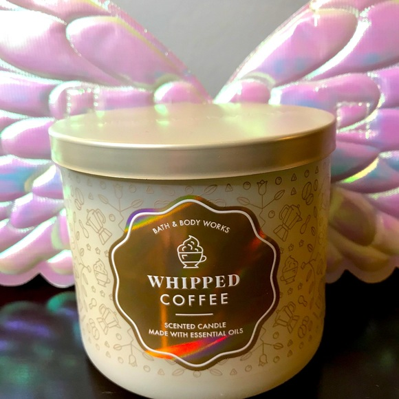 BBW 3 wick candle Whipped Coffee